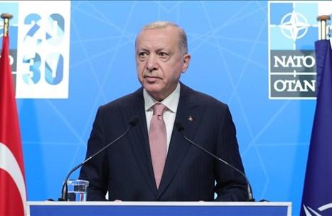 """أردوغان: اللقاء مع بايدن """"كان إيجابيا"""" ودعَوته لزيارة تركيا"""