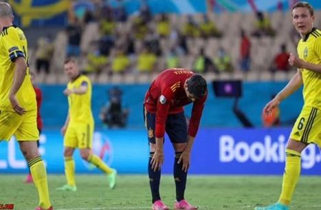 إسبانيا تتعثر في أول ظهور لها باليورو أمام السويد