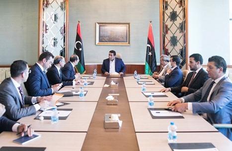 الدبيبة والمنفي يستقبلان رئيس المخابرات المصرية في طرابلس