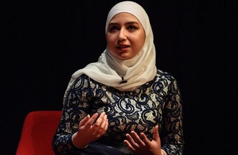 مايا غزال.. أول لاجئة سورية تحصل على رخصة قيادة طائرة