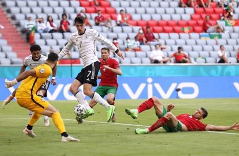 ألمانيا تكتسح البرتغال في قمة مباريات اليورو