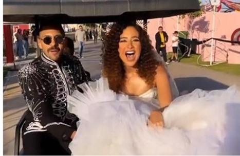 من هي غادة والي عروس الفنان حسن أبو الروس؟