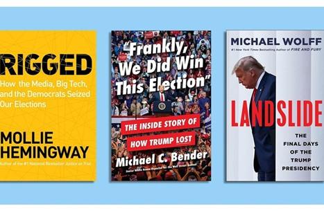 موقع أمريكي: ترامب يعد مؤلفين لكتب عنه بخبطات