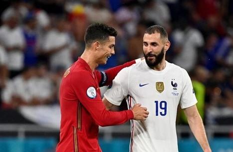 قمة فرنسا والبرتغال تنتهي بالتعادل.. وتألق بنزيمة ورونالدو