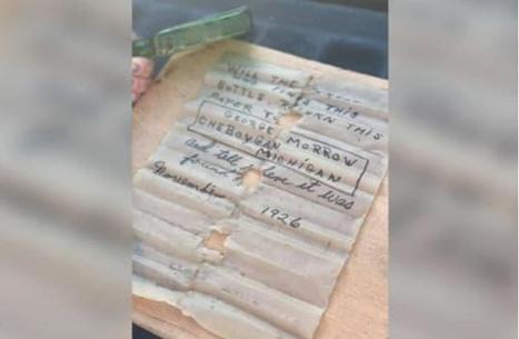 أمريكية تعثر على رسالة عمرها 95 عاما وتتواصل مع ابنة كاتبها