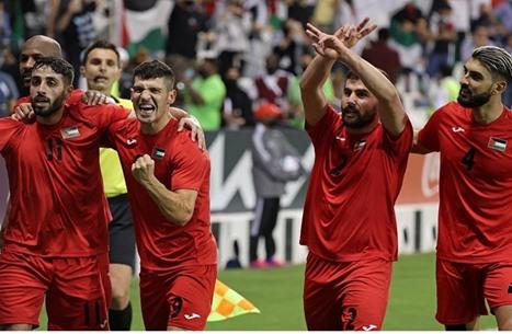 فلسطين تتأهل لكأس العرب.. وتواجه المغرب بالجولة الأولى