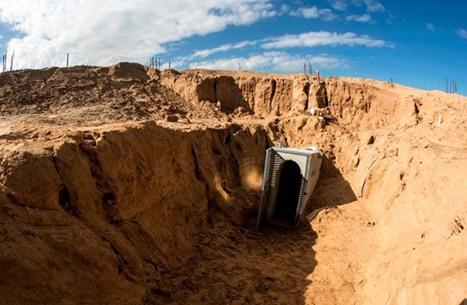 أنفاق غزة.. من فكرة بدائية إلى مدينة تحت الأرض (إنفوغراف)