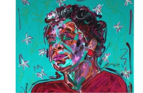 فنانة فلسطينية تستعرض معاناة الشعوب المضطهدة في 38 لوحة