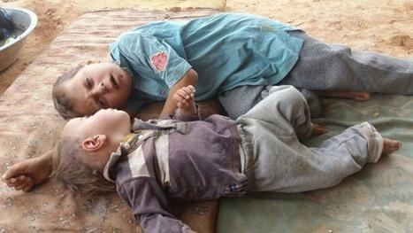 معاناة لاجئين بمخيم الرقبان في الأردن بسبب ارتفاع درجات الحرارة - 02- معاناة لاجئين بمخيم الرقبان في