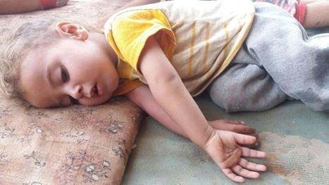 معاناة لاجئين بمخيم الرقبان في الأردن بسبب ارتفاع درجات الحرارة - 05- معاناة لاجئين بمخيم الرقبان في