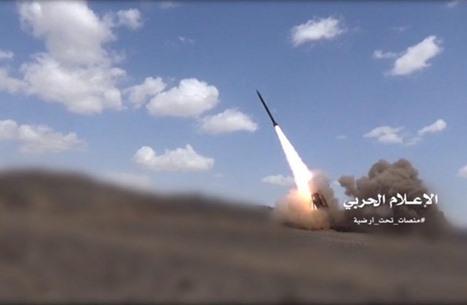 التحالف يعلن اعتراض صاروخ حوثي كان يتجه إلى الرياض