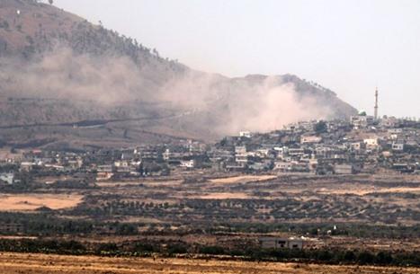عدوان إسرائيلي على ريف القنيطرة بجنوب سوريا