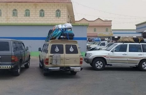 منظمة يمنية تدعو لإنهاء أزمة العالقين على الحدود مع السعودية