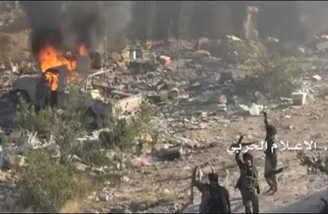 قصف حوثي لمطارين وقاعدة عسكرية بالسعودية.. والتحالف يرد