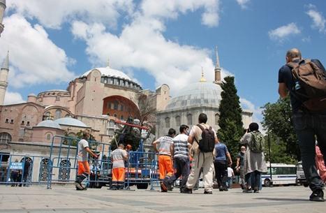 """القضاء التركي يعيد اعتبار """"آيا صوفيا"""" مسجدا للصلاة (شاهد)"""