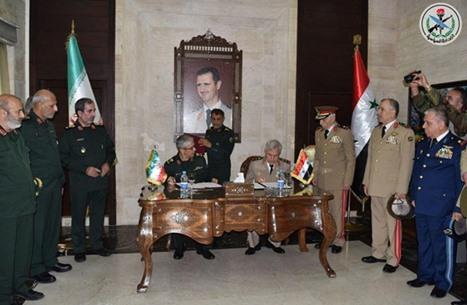 هل الاتفاق العسكري بين دمشق وطهران رسالة لموسكو؟