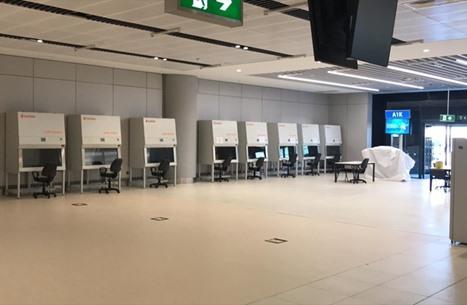 مركز لاختبار كورونا بمطار إسطنبول.. النتائج خلال ساعتين