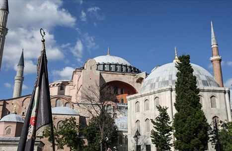 """الإخوان مهنئة تركيا: إعادة """"آيا صوفيا"""" مسجدا خطوة تاريخية"""