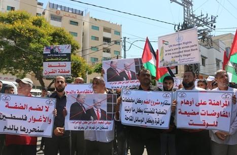 تفاعل عربي واسع عبر مواقع التواصل رفضا للضم
