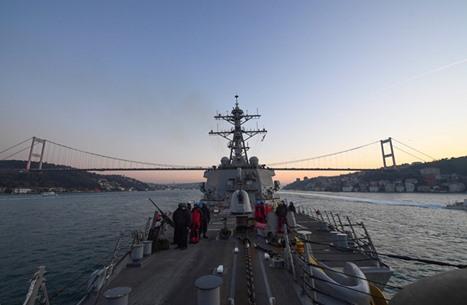 مصادر: أمريكا تلغي عبور سفينتين حربيتين المضائق التركية