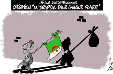الكاريكاتير الجزائري.. حرب الأفكار الساخرة بلغتين