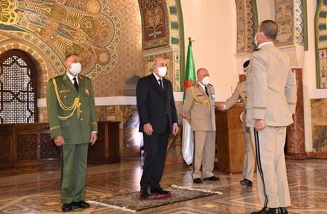 """الرئيس الجزائري يعين """"شنقريحة"""" قائدا جديدا لأركان الجيش"""