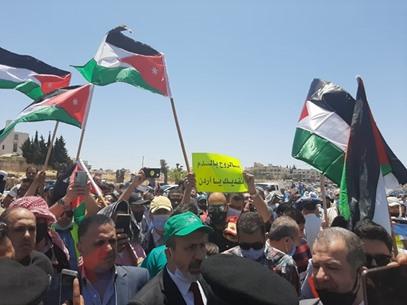 مسيرة السفارة الأمريكية في الأردن - IMG-20200703-WA0017