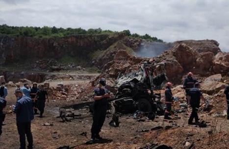 مقتل 3 من الدرك التركي جراء انفجار مواد خطيرة أثناء نقلها