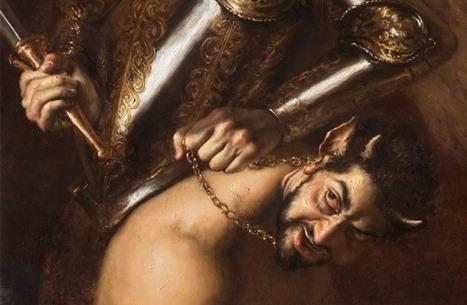 """لوحة """"الشيطان"""" تثير ضجة واسعة.. ورسامها الإيطالي يوضح"""