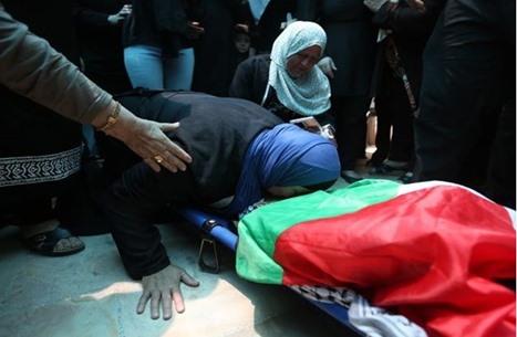 تشييع طفل فلسطيني شهيد.. وحشد ضد بؤرة استيطانية (صور)