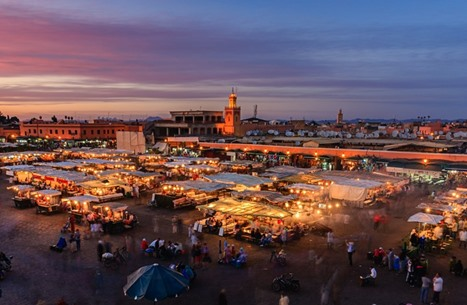 طيران الاحتلال يبدأ رحلات سياحية إلى مراكش المغربية