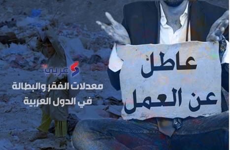 أرقام مخيفة عن معدلات الفقر والبطالة ببلدان عربية (إنفوغراف)