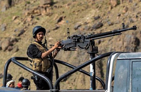 معارك بين الجيش اليمني والحوثي ومظاهرة ضد الانتقالي بسقطرى
