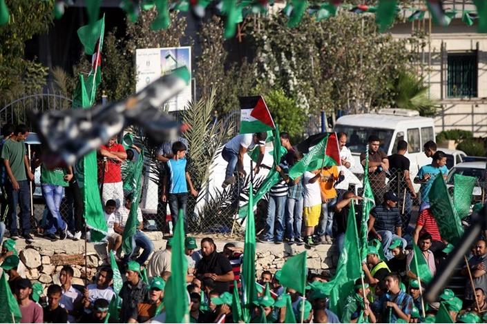 """احتفالات بالضفة الغربية تحت شعار """"شعب يصنع نصره"""" - aa_picture_20140830_3166087_web"""