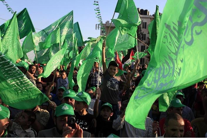 """احتفالات بالضفة الغربية تحت شعار """"شعب يصنع نصره"""" - aa_picture_20140830_3166094_web"""