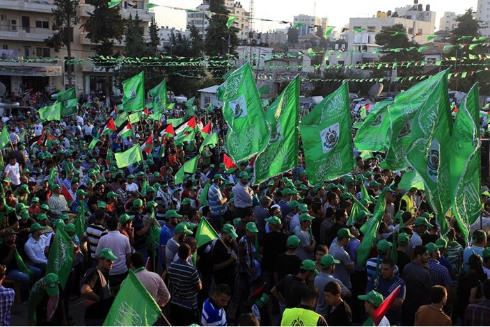 """احتفالات بالضفة الغربية تحت شعار """"شعب يصنع نصره"""" - aa_picture_20140830_3166097_web"""