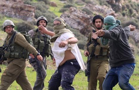 اعتداء وحشي للاحتلال على عائلة بالخليل بسبب مستوطن (فيديو)