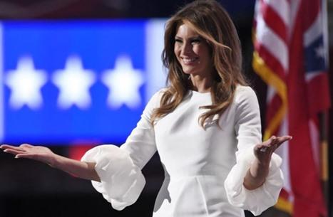 ميلانيا تثير الجدل من جديد بإبعاد يد ترامب عن يدها (شاهد)