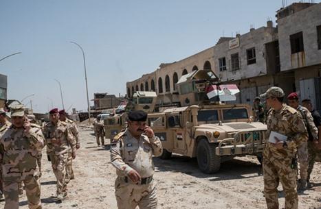 مقتل 7 مسلحين من تنظيم الدولة في قصف للجيش العراقي