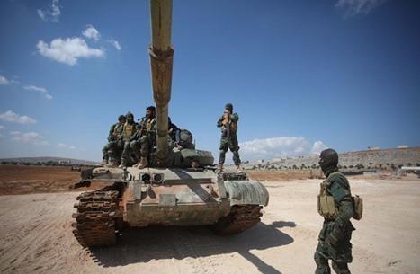 """""""تحرير الشام"""" تبدأ معركة ضد فصائل جهادية بجبل التركمان (شاهد)"""