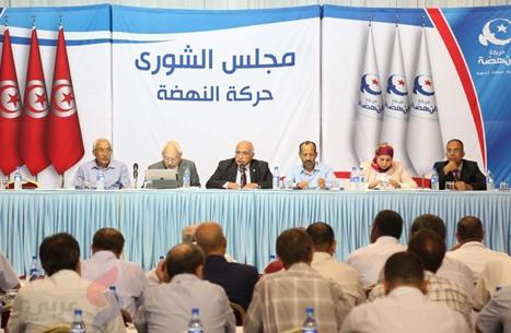 """شورى """"النهضة"""" التونسية يقر خلية أزمة.. وخلافات حادة"""