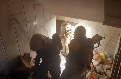 حريق بمستشفى وسط طهران وإنقاذ 25 شخصا