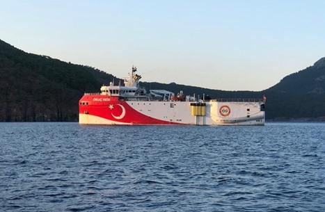 تركيا تعلن وصول سفينة إلى شرق المتوسط لاستئناف التنقيب