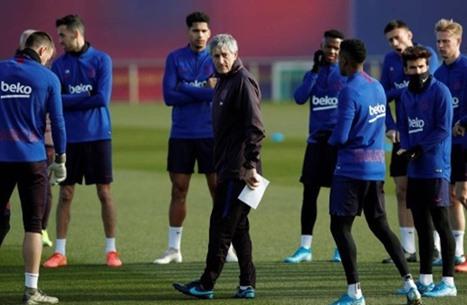 برشلونة يؤكد وجود حالة إصابة بفيروس كورونا بين لاعبيه