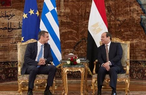 السيسي ورئيس وزراء اليونان يبحثان الأوضاع بشرق المتوسط