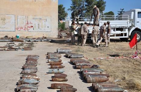 منظمة حقوقية: ألغام سرت قتل مع وقف التنفيذ
