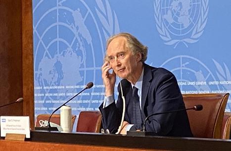 بيدرسون: خلافات بلجنة دستور سوريا حول الجولة المقبلة
