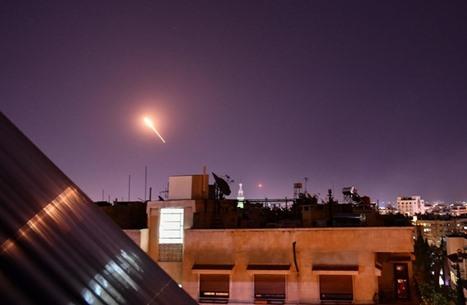 قصف إسرائيلي يستهدف مواقع للنظام السوري بالقنيطرة