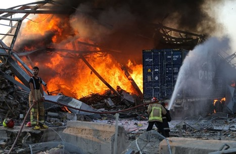 هكذا تناولت الصحافة الفرنسية انفجار بيروت