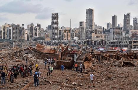 الحداد والصدمة يخيمان على بيروت.. أكثر من 100 قتيل